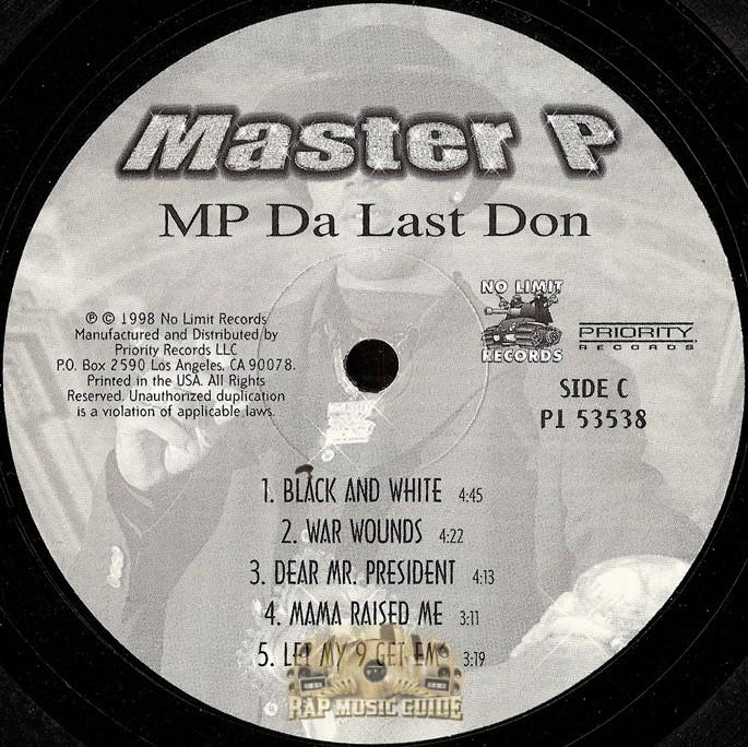 Master P - MP Da Last Don: Record | Rap Music Guide