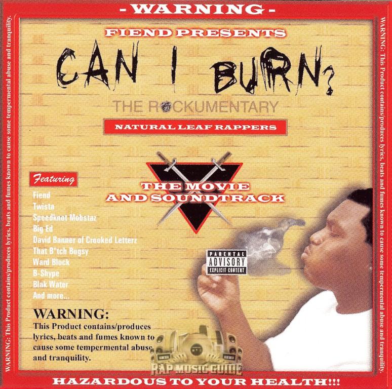 Resultado de imagen para Fiend - Can I Burn?