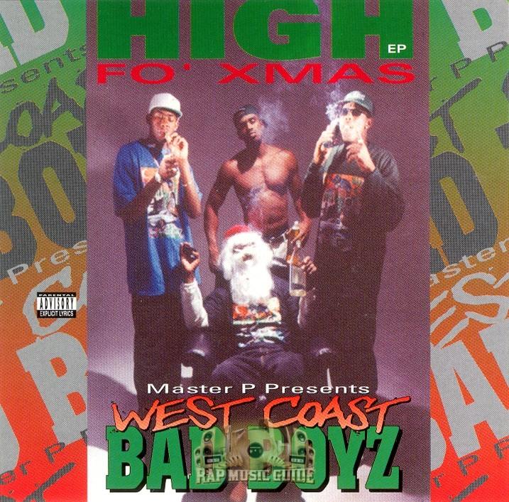 West Coast Bad Boyz - High Fo' Xmas: CD