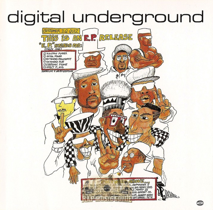 Image result for Digital Underground: This is an EP Release