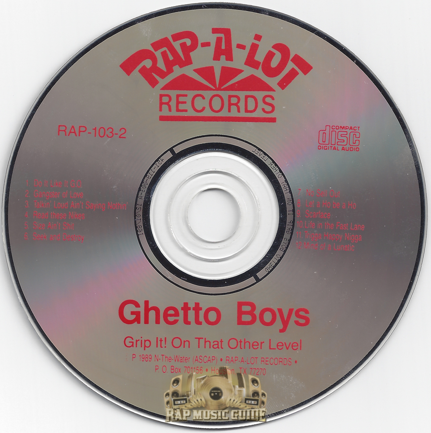Ghetto Boys Grip It! On That Other Level cd