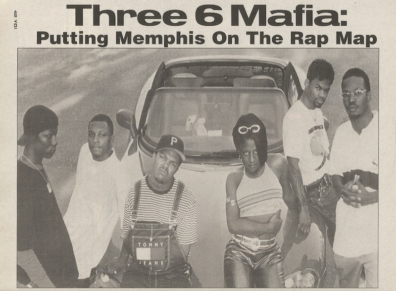Three 6 Mafia yo! magazine