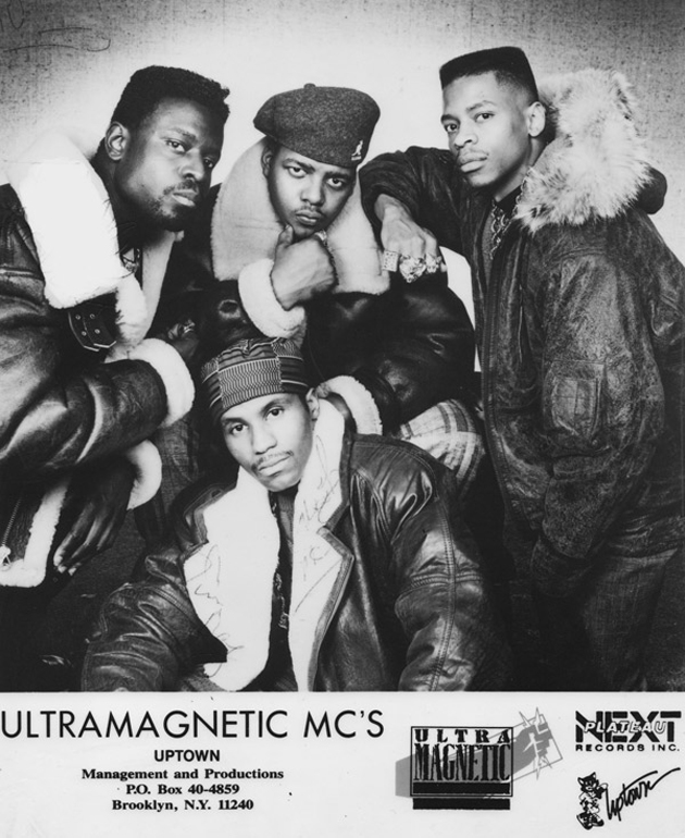 Ultramagnetic MC's* Ultra Magnetic M.C.'s - Funky / Mentally Mad