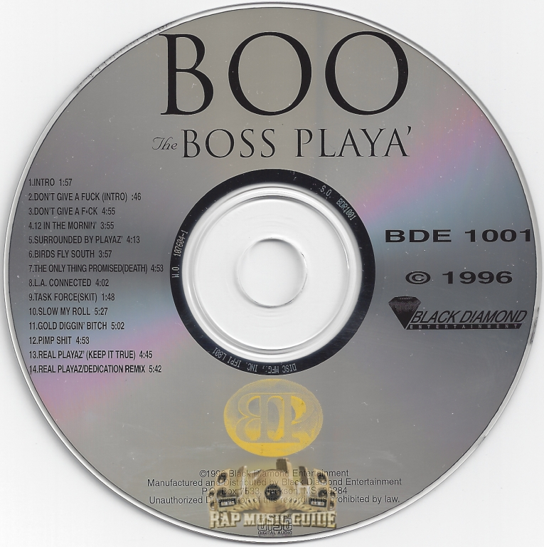 Boo The Boss Player cd re-release