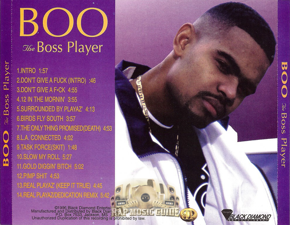 Boo The Boss Player og rear