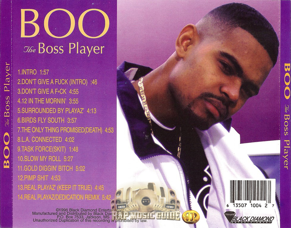Boo The Boss Player re-release rear