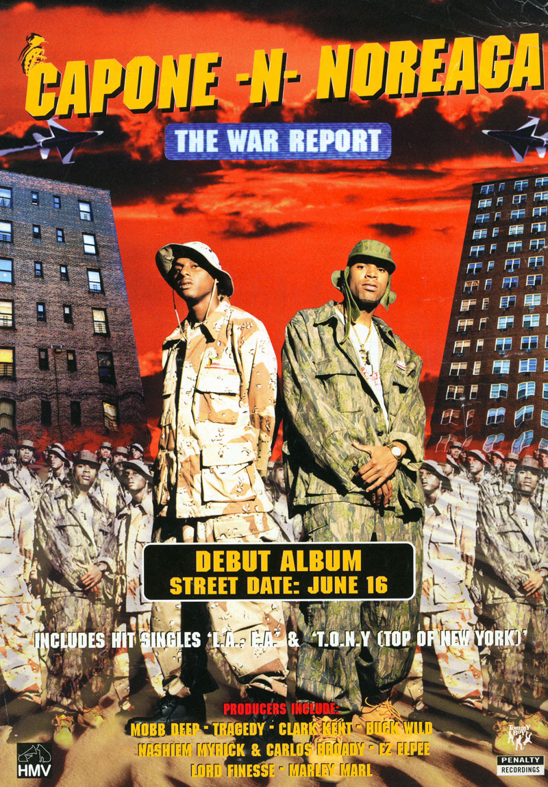 Capone N Noreaga The War Report ad