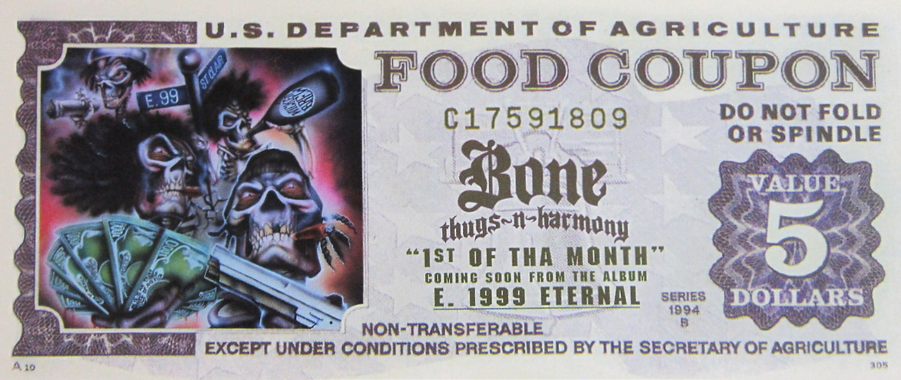 Bone Thugs-n-Harmony Food Coupon