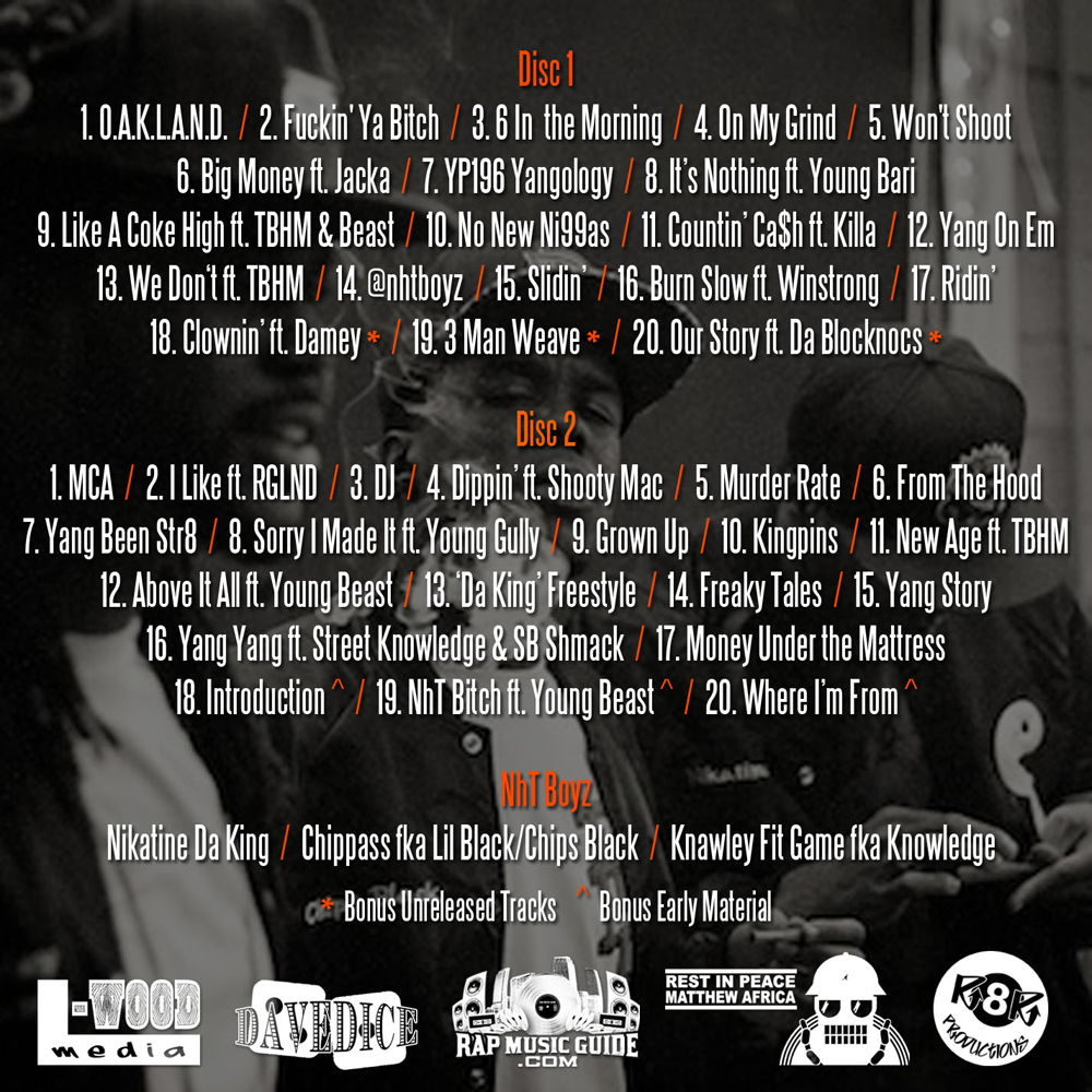 Fresh Out - NhT Boyz tracklist