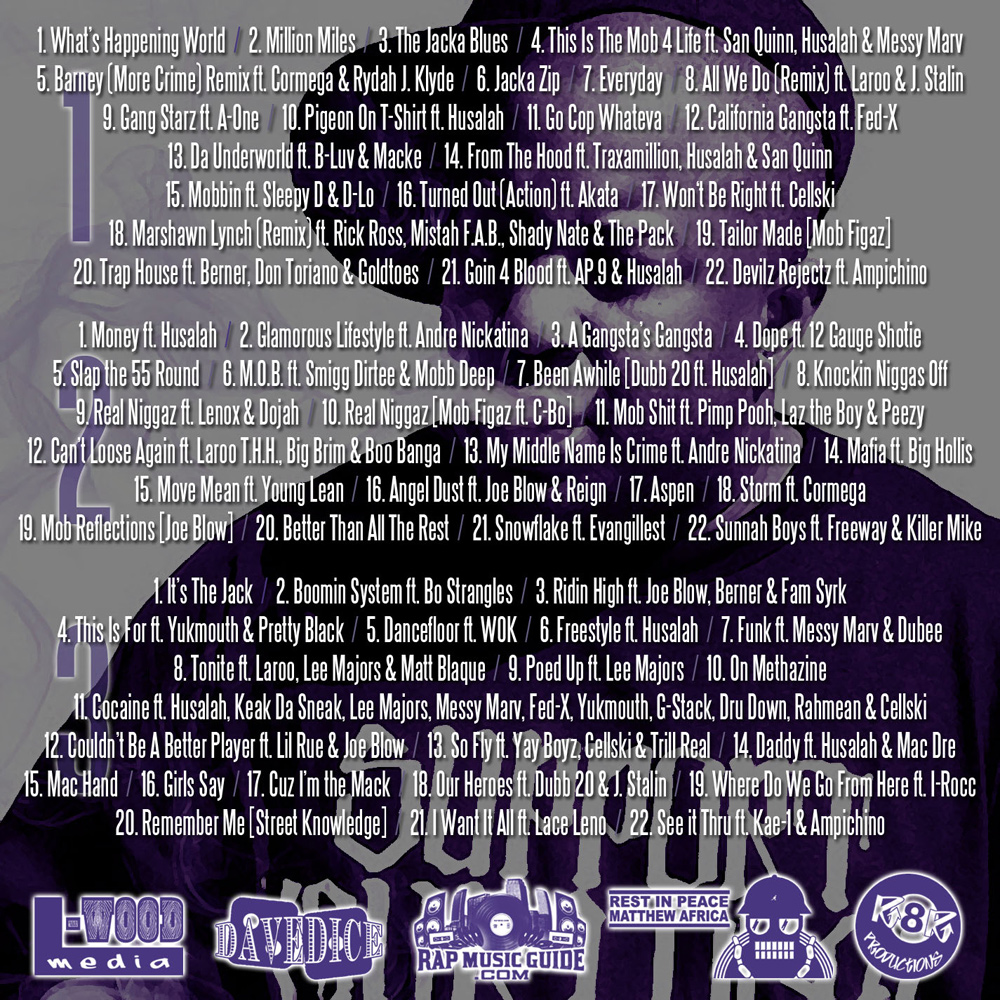 Fresh-Out-The-Jacka-Track-Listing