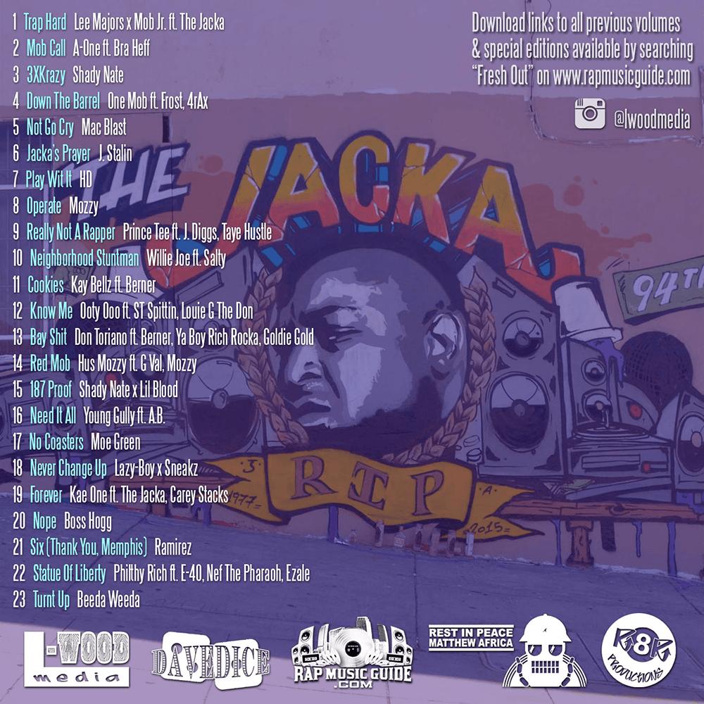 Fresh Out - Volume 10 tracklist