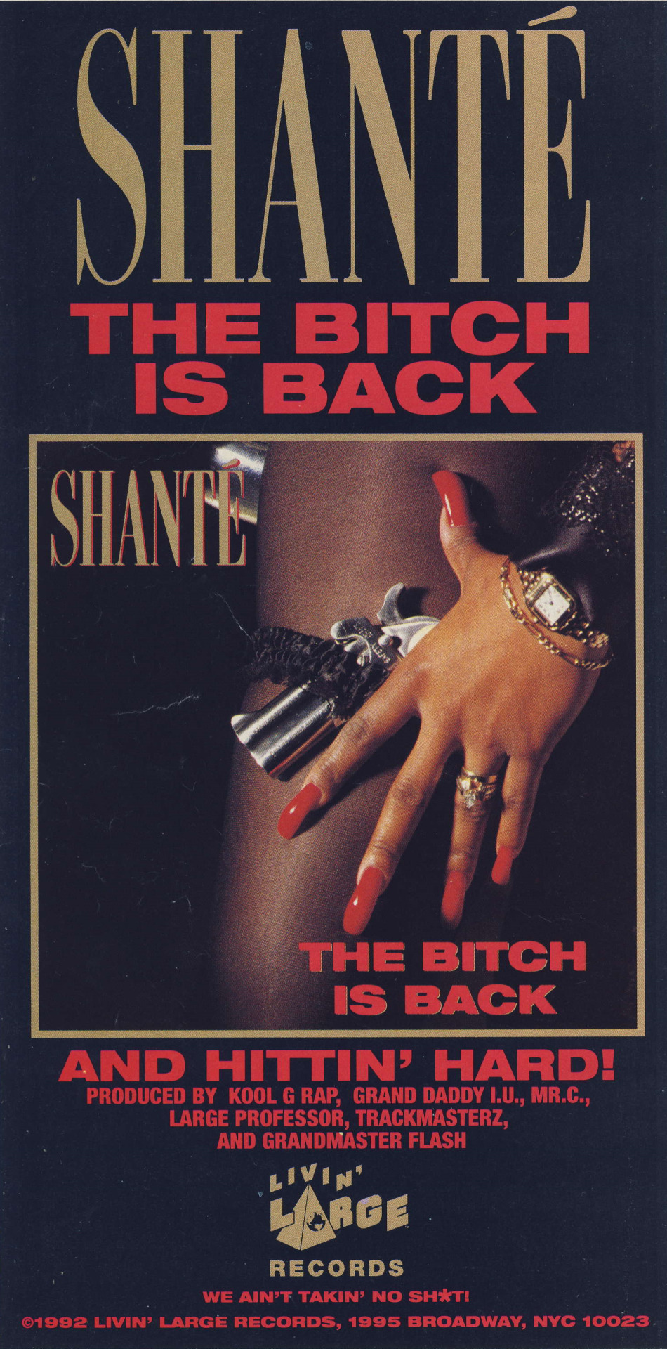 Shante - The Bitch Is Back And Hittin' Hard
