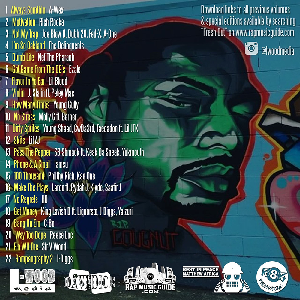 Fresh Out Volume Eleven tracklist