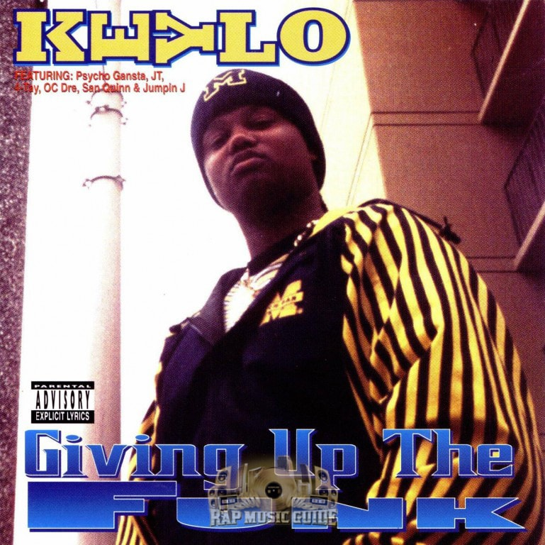 Keylo - Giving Up The Funk re-release cd