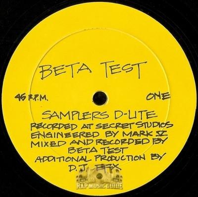 Beta Test - Samplers D-Lite / Star Trax