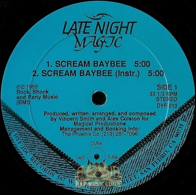 Late Night Magic - Scream Baybee
