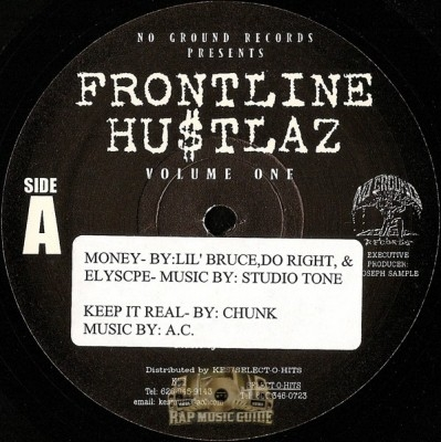 Frontline Hustlaz - Money / Keep It Real