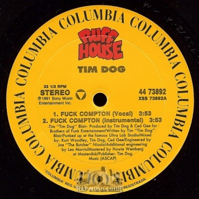 Tim Dog - Fuck Compton