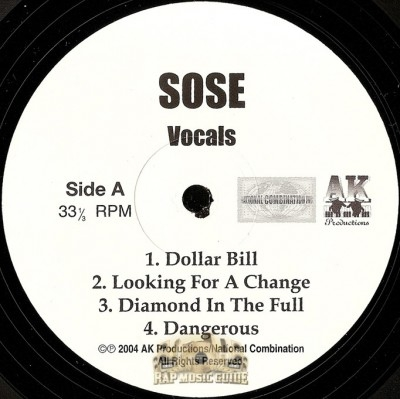Sose - From Strugglin 2 Bubblin EP