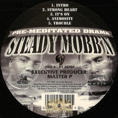 Steady Mobb'n - Pre-Meditated Drama