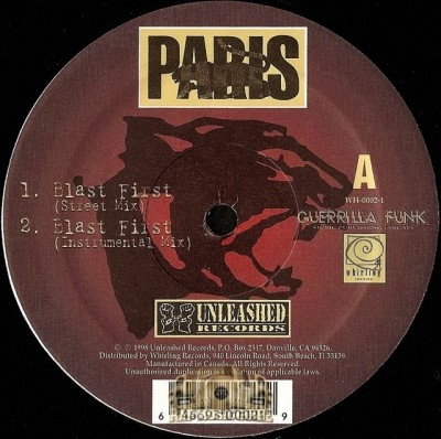 Paris - Blast First