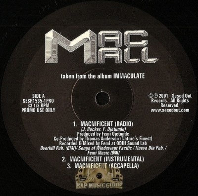 Mac Mall - Macnificent / Some Mo' Of It