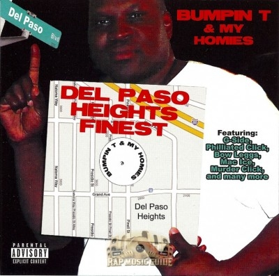 Bumpin T & My Homies - Del Paso Heights Finest