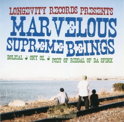 Bolical, Ony OZ., Poet - Marvelous Supreme Beings