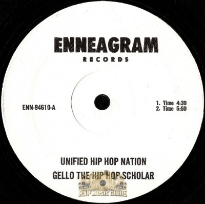 Gello The Hip Hop Scholar - Unified Hip Hop Nation