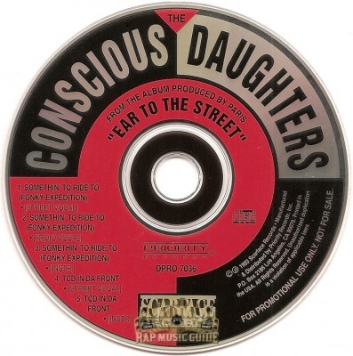 Conscious Daughters - Somethin' To Ride To / TCD In Da Front