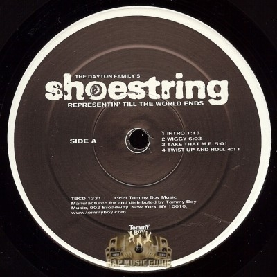Shoestring - Representin' Till The World Ends