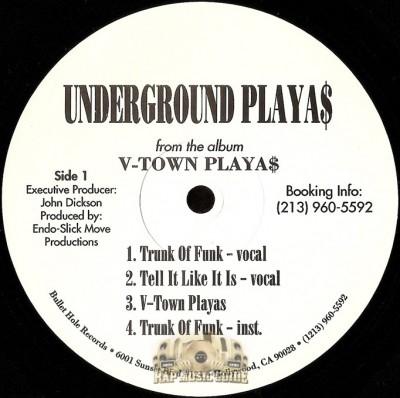 Underground Playa$ - V-Town Playa$ EP