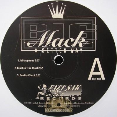 Big Mack - A Better Way EP