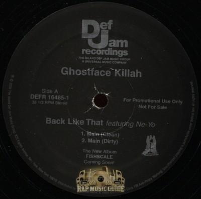 Ghostface Killah - Back Like That