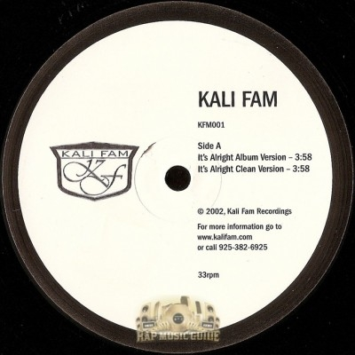 Kali Fam - It's Alright / Ooh K&F