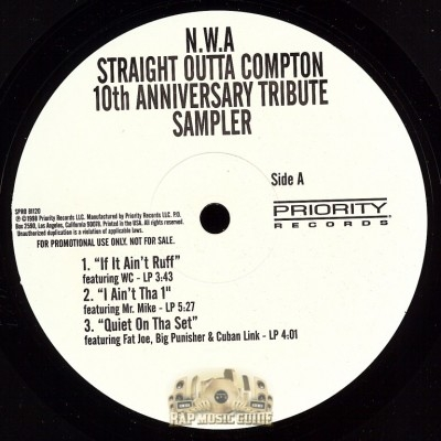 N.W.A - Straight Outta Compton 10th Anniversary Tribute Sampler