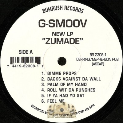 G-Smoov - Zu-Made