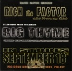 Rich The Factor - Selections From The Album Big Thyme
