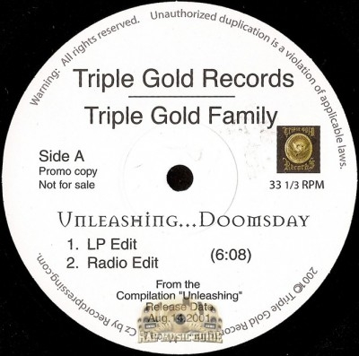 Triple Gold Family - Unleashing...Doomsday