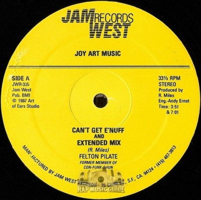 Felton Pilate - Can't Get E'Nuff