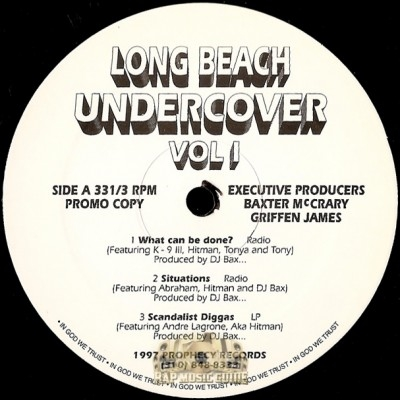 Long Beach Undercover - Vol. 1