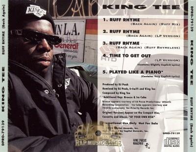 King Tee - Ruff Rhyme (Back Again)