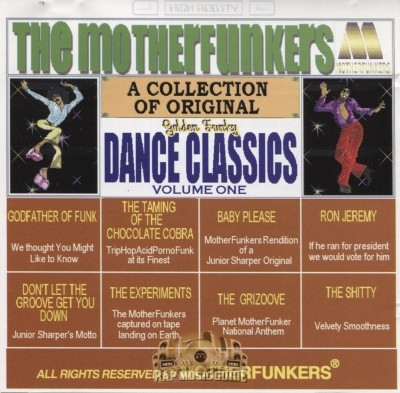 The Motherfunkers - Golden Funky Dance Classics Vol. 1