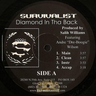 Survivalist - Diamond In Tha Back / Contemplating