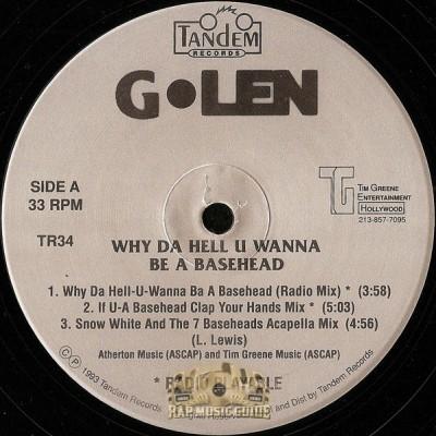 G-Len - Why Da Hell U Wanna Be A Basehead