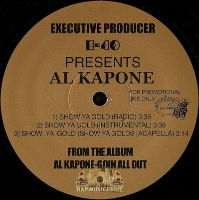 Al Kapone - Show Ya Gold