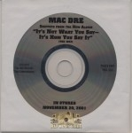 Mac Dre - It's Not What You Say... It's How You Say It (Album Snippets)