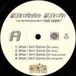 Richie Rich - What I Ain't Gonna Do