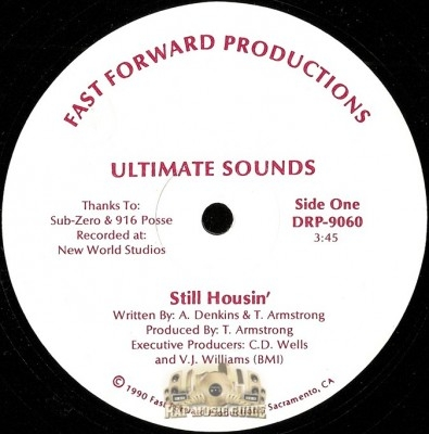 Ultimate Sounds - Still Housin' / Pain