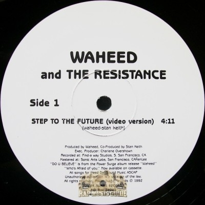 Waheed & The Resistance - Step To The Future